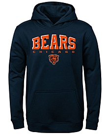 Big Boys Chicago Bears Fleece Hoodie