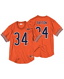 Men's Walter Payton Chicago Bears Name & Number Mesh Crewneck Top