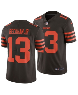 Nike Men's Odell Beckham Jr. Cleveland Browns Limited Color Rush Jersey
