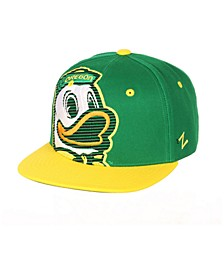 Big Boys Oregon Ducks Hooligan Snapback Cap