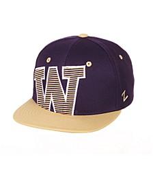 Big Boys Washington Huskies Hooligan Snapback Cap