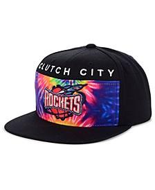 Houston Rockets Breeze Panel Snapback Cap