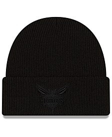 Charlotte Hornets Blackout Knit Hat