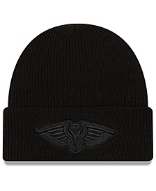 New Orleans Pelicans Blackout Knit Hat