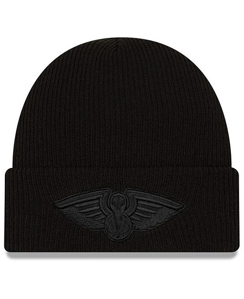 New Era New Orleans Pelicans Blackout Knit Hat