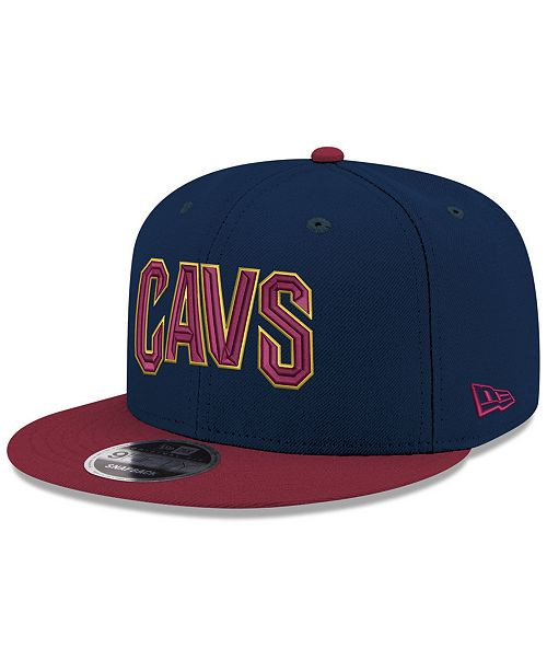 New Era Boys' Cleveland Cavaliers Basic 9FIFTY Snapback Cap