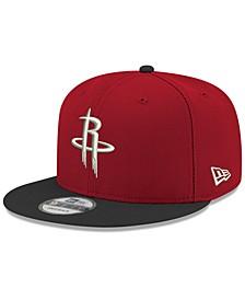 Boys' Houston Rockets Basic 9FIFTY Snapback Cap