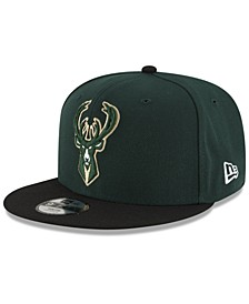 Boys' Milwaukee Bucks Basic 9FIFTY Snapback Cap