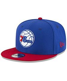 Boys' Philadelphia 76ers Basic 9FIFTY Snapback Cap