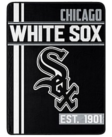 Chicago White Sox Micro Raschel Walk Off Throw Blanket