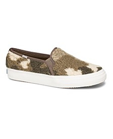 Women's Double Decker Shearling Sneakers, Created for Macy's