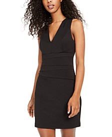 Juniors' Paneled Bodycon Dress
