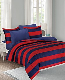 Show Ur Colors 8-Piece Twin Bed in a Bag Set