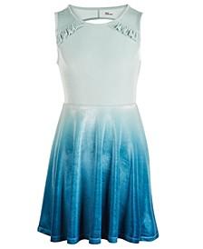 Big Girls Ombré Velour Dress, Created For Macy's