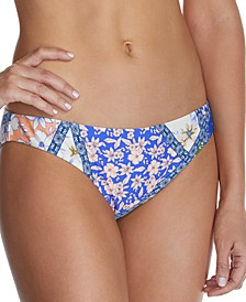 Juniors' Las Brisas Printed Bikini Bottoms