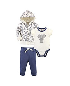 Baby Boy and Girl Organic Hoodie