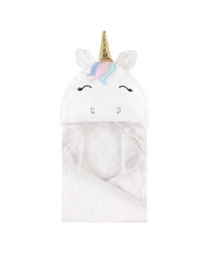 Hudson Baby Baby Girls Hooded Towel In White