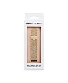 Womens Apple Watch® Strap Mesh Bracelet