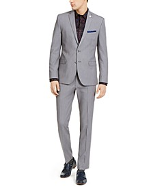 Men's Slim-Fit Stretch Solid Suit