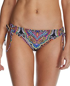 Juniors' Baja Surf Sweet Side-Tie Hipster Bikini Bottoms