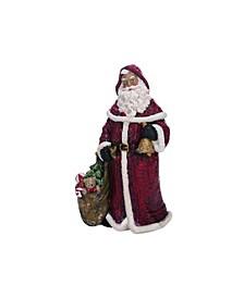 Red Christmas Traditional Santa