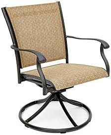 Beachmont II Outdoor Swivel Rocker, Created for Macy's