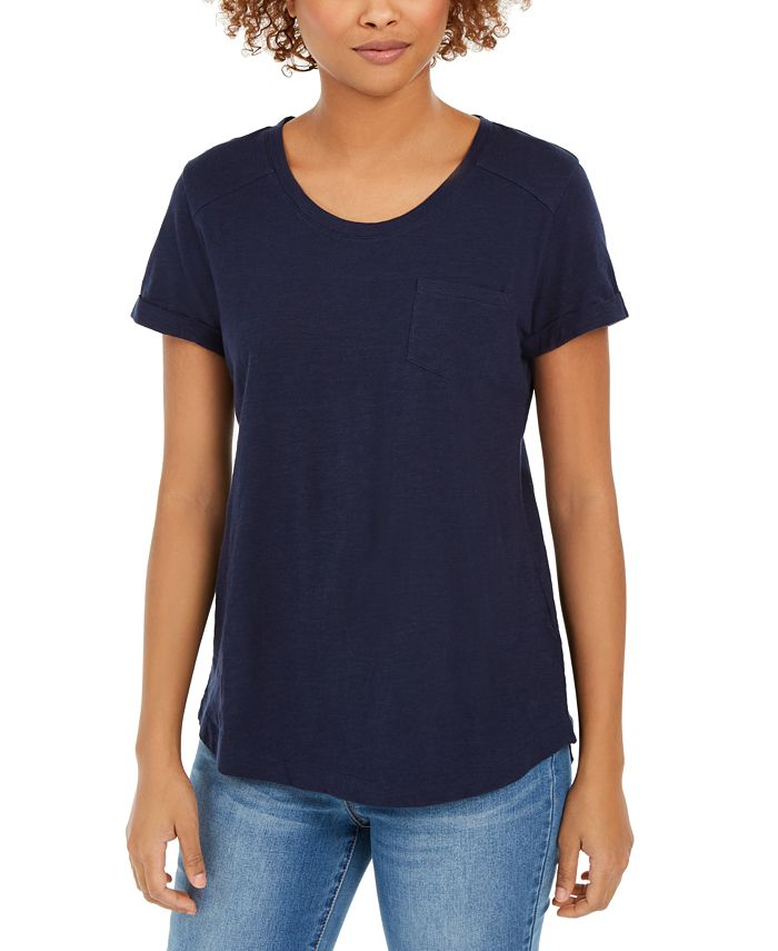 Style & Co - Cotton Crew-Neck T-Shirt