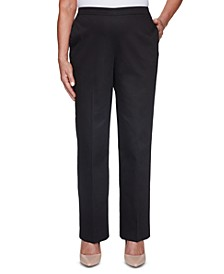 Riverside Drive Twill Pull-On Pants