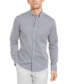 Men's Slim-Fit Stretch Stripe Shirt