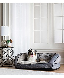 "43"" x 35"" Harper Sofa Dog Bed"