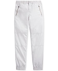 Big Boys Cotton Poplin Jogger