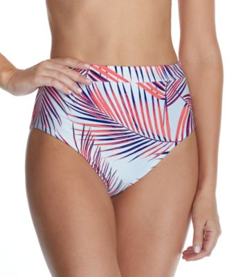 Juniors' Back to Bali High-Waist Bikini Bottoms, Created For Macy's