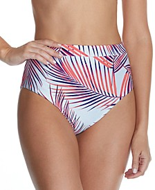 Juniors' Back to Bali High-Waist Bikini Bottoms, Created For Macy's
