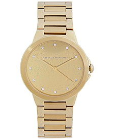 Women's Cali Gold-Tone Stainless Steel Bracelet Watch 34mm