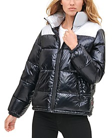 Women's Pearlized Puffy Jacket