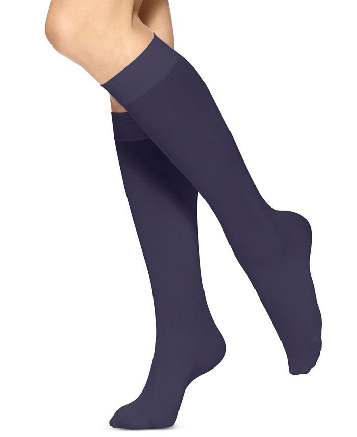 Hue - HUE Soft Opaque Knee High Trouser Socks