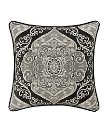 "J Queen Vera 20"" Square Decorative Throw Pillow"