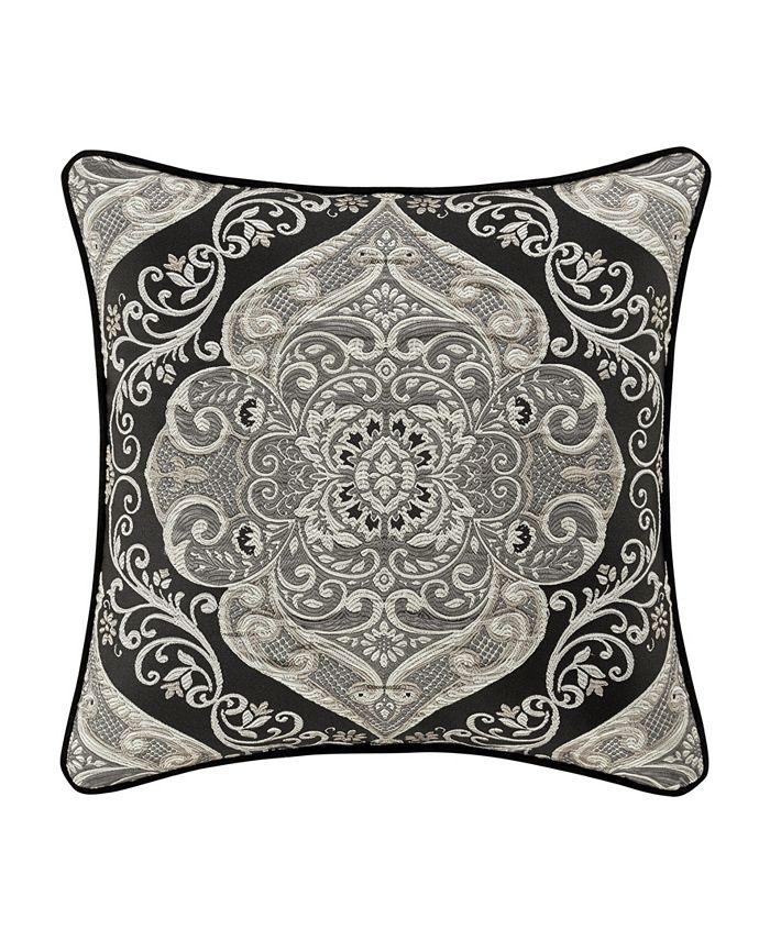 "J Queen New York - Jqueen Vera 20"" Square Decorative Throw Pillow"