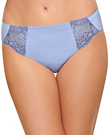 Lace Impression Sheer Lace Brief 841257