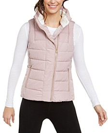 Fleece-Lined Quilted Vest
