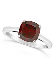 Garnet (2-3/4 ct. t.w.) Ring in Sterling Silver