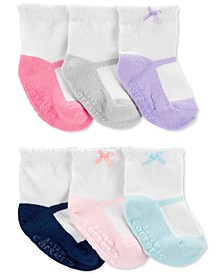 Baby Girls 6-Pk. Ballet Socks