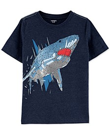 Little & Big Boys Shark-Print T-Shirt