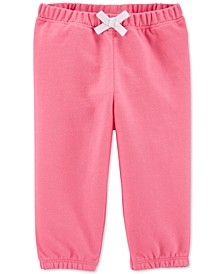 Baby Girls French Terry Pants