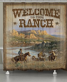 Canyon Ranch Shower Curtain