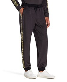 Men's Tapered Stretch Paisley Joggers