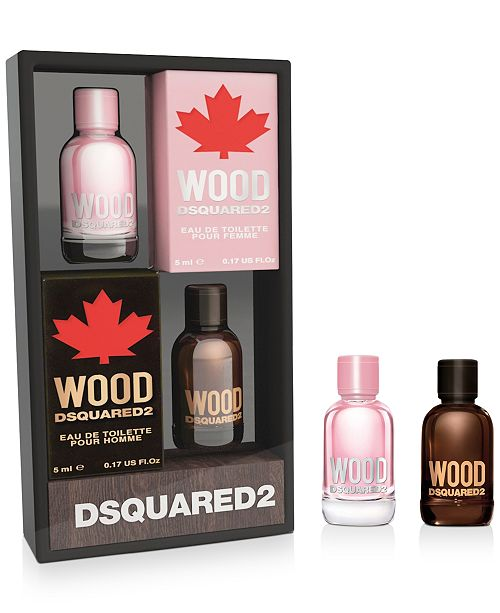 DSQUARED2 2-Pc. Wood Deluxe Miniatures Set, Created For Macy's