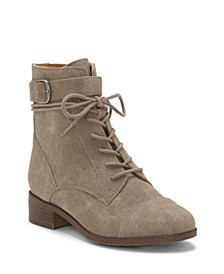 Kids by Vince Camuto Big Girl's and Little Girl's Classic Lace Up Boot with inside Zipper