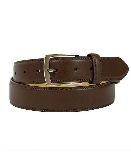 Weatherproof Men's Belt with Single Prong Buckle