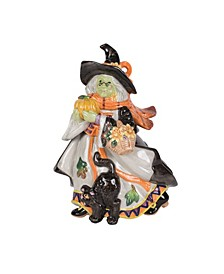 Halloween Harvest Witch Canister
